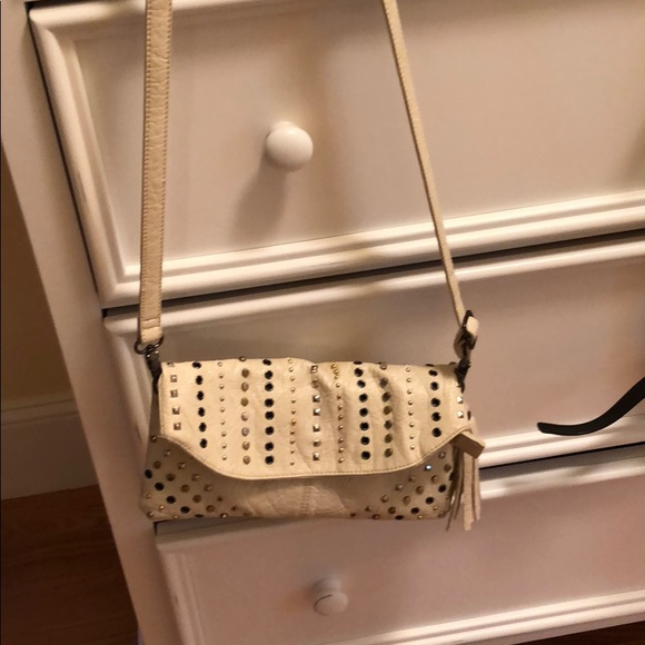 Big Buddha Handbags - White studded crossbody